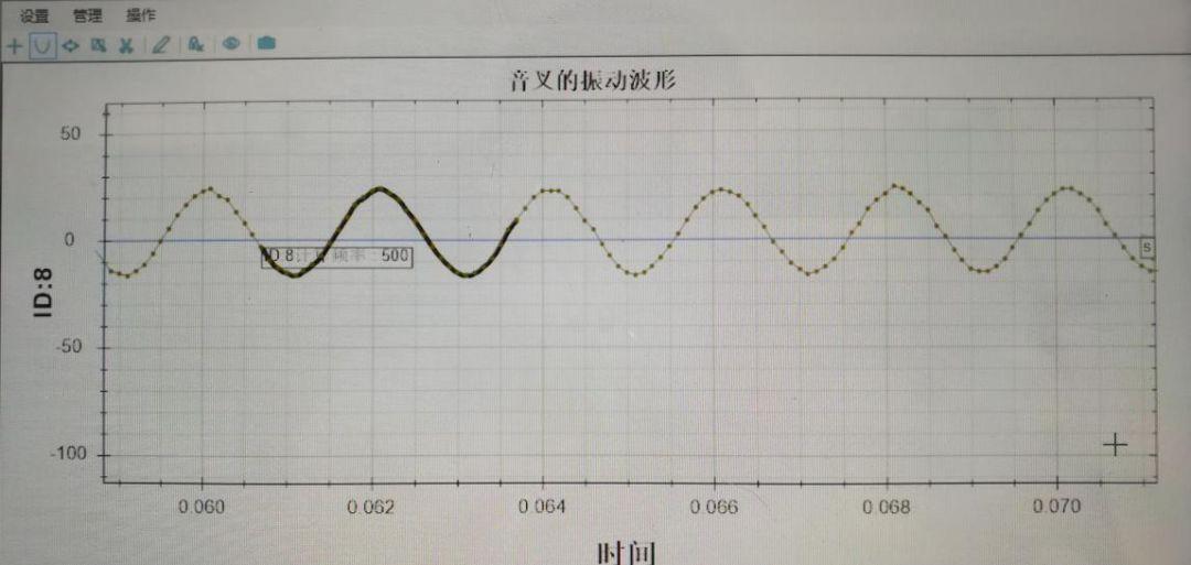 传感器实验(53)音叉的振动