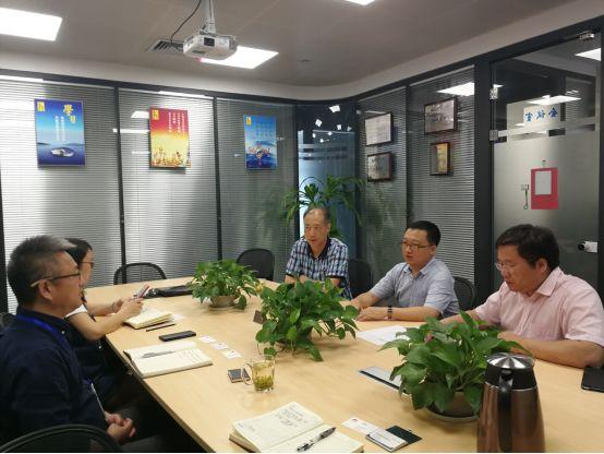 华为公司领导到访海能通信共商智慧杆促进会推动事宜