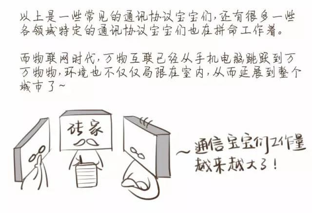 漫画:专家说NB-IoT