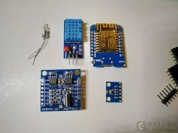 49.6元DIY 一个 micropython 的多功能无线电子钟