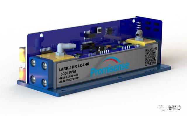 #00LARK-1HRi-C4H8红外传感器对几种常见VOC的响应