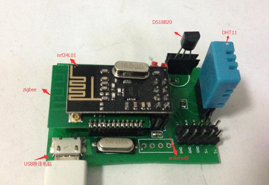 《温湿传感器》DS18B20、DHT11应用.