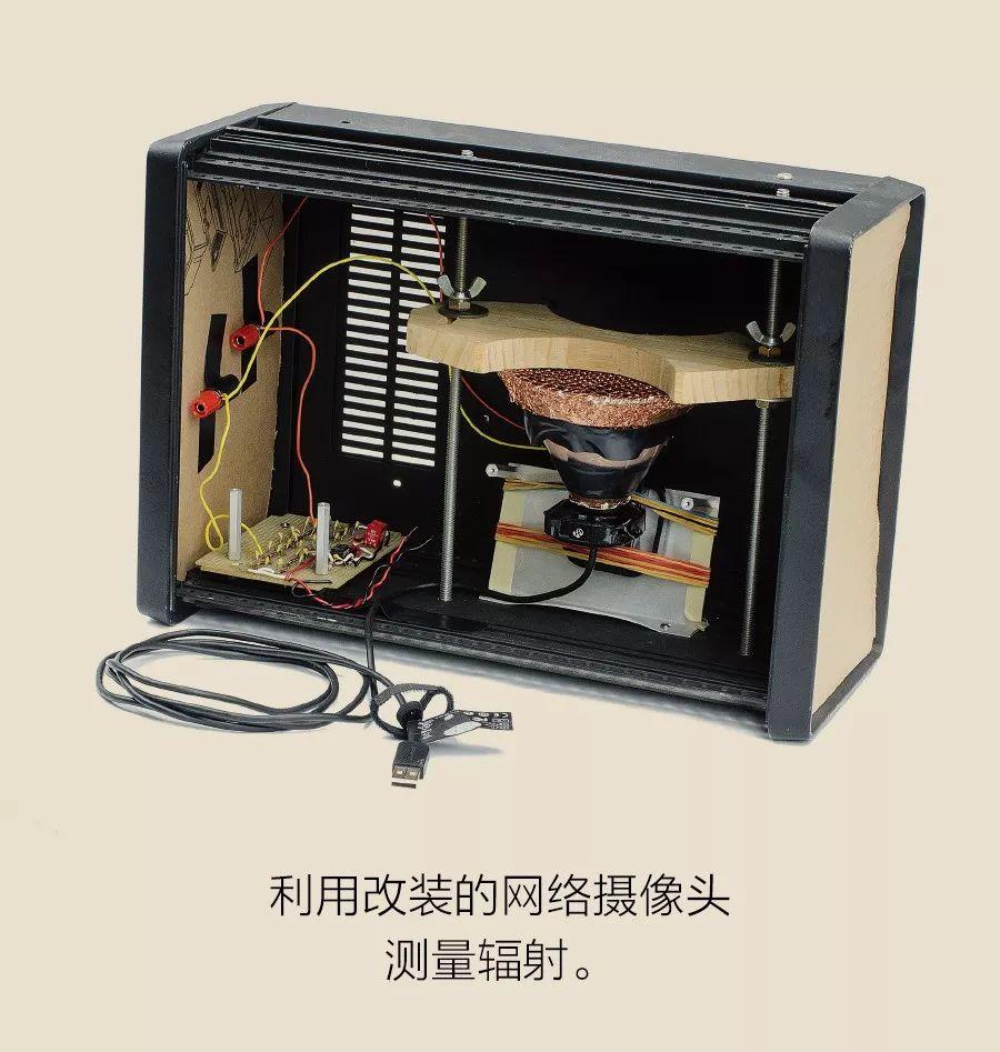 利用图像传感器自制氡检测仪
