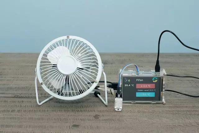 用温度传感器diy一台夏季Mini小风扇,太实用了!