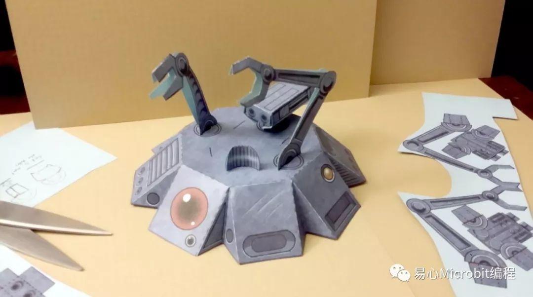 自制星际大战机器人,自己打印自己折!