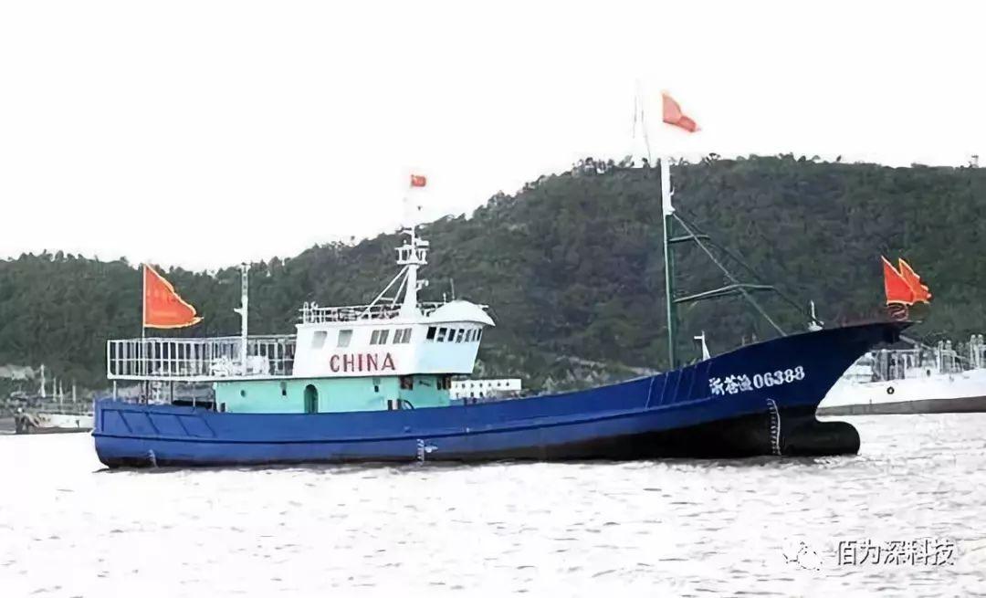 将传感器技术应用到浙江渔船上