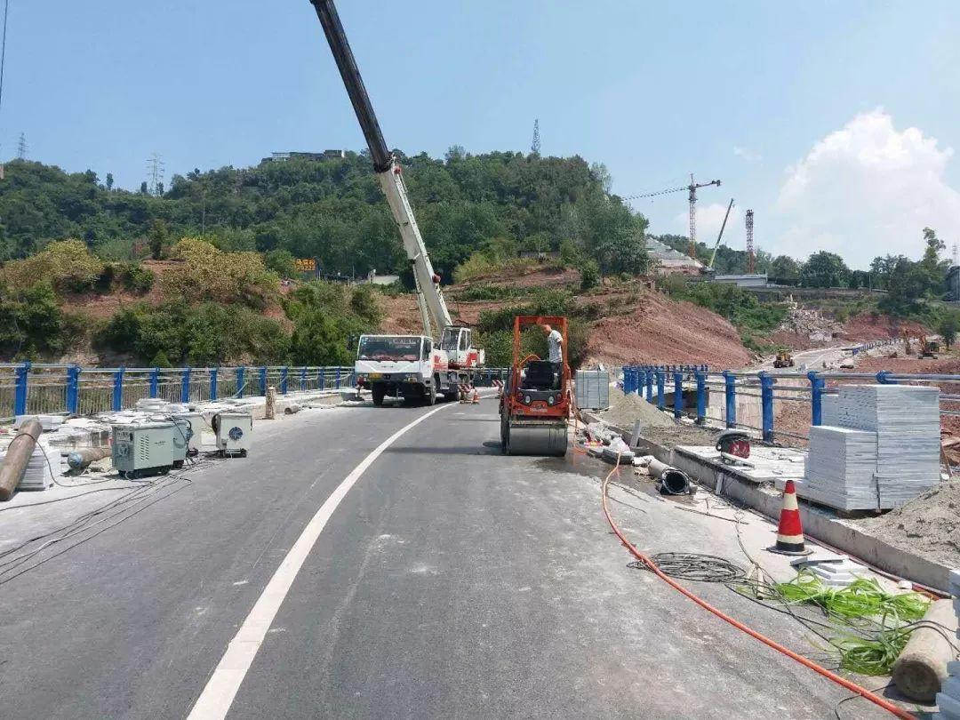 【智慧交通】塔石路Ⅱ号桥临时封闭施工,恢复通行时间看这