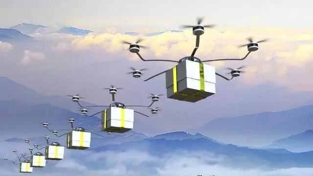 智能物流日新月异,未来取代快递小哥的将是无人机......