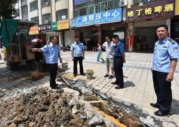怀集:黄炳新副县长调研督导智能交通建设工作