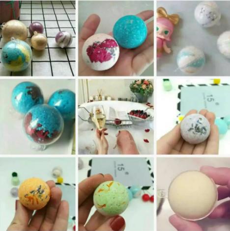 STEAM科学亲子课——DIY爆炸盐浴球