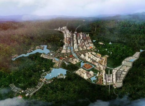 琅南塔将发展成为一个智能生态城市和物流枢纽