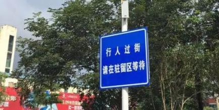 """广西南宁启用""""智能斑马线"""""""