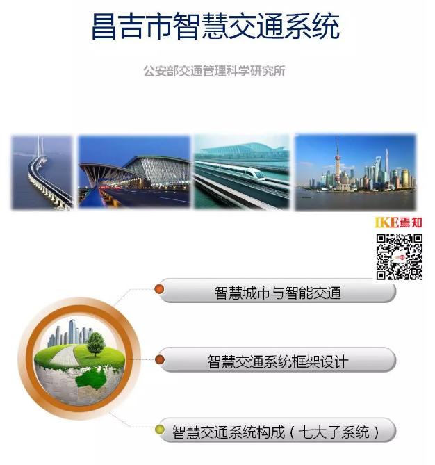 昌吉市智慧交通系统(PPT)