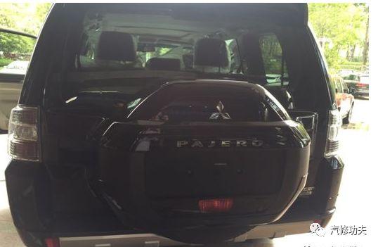 2017年三菱帕捷罗轮胎压力传感器ID注册