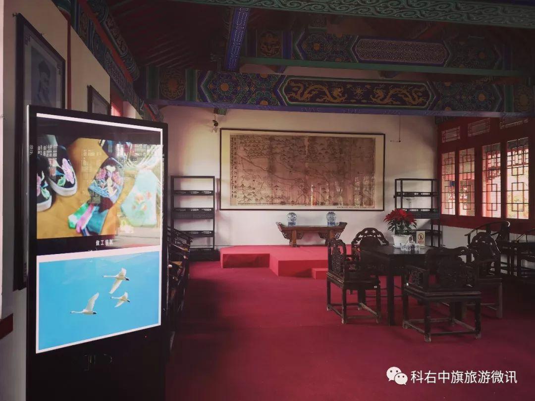 图什业图亲王府景区新增智能服务设施
