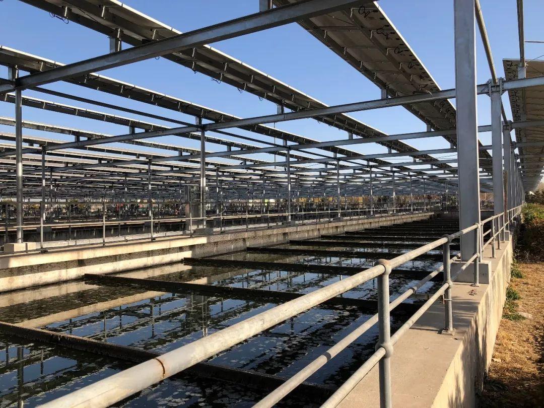 """""""智慧能源+水务""""北排清河水厂分布式光伏项目并网"""
