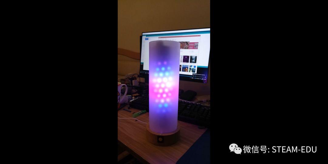 用声音传感器制作音乐节奏灯