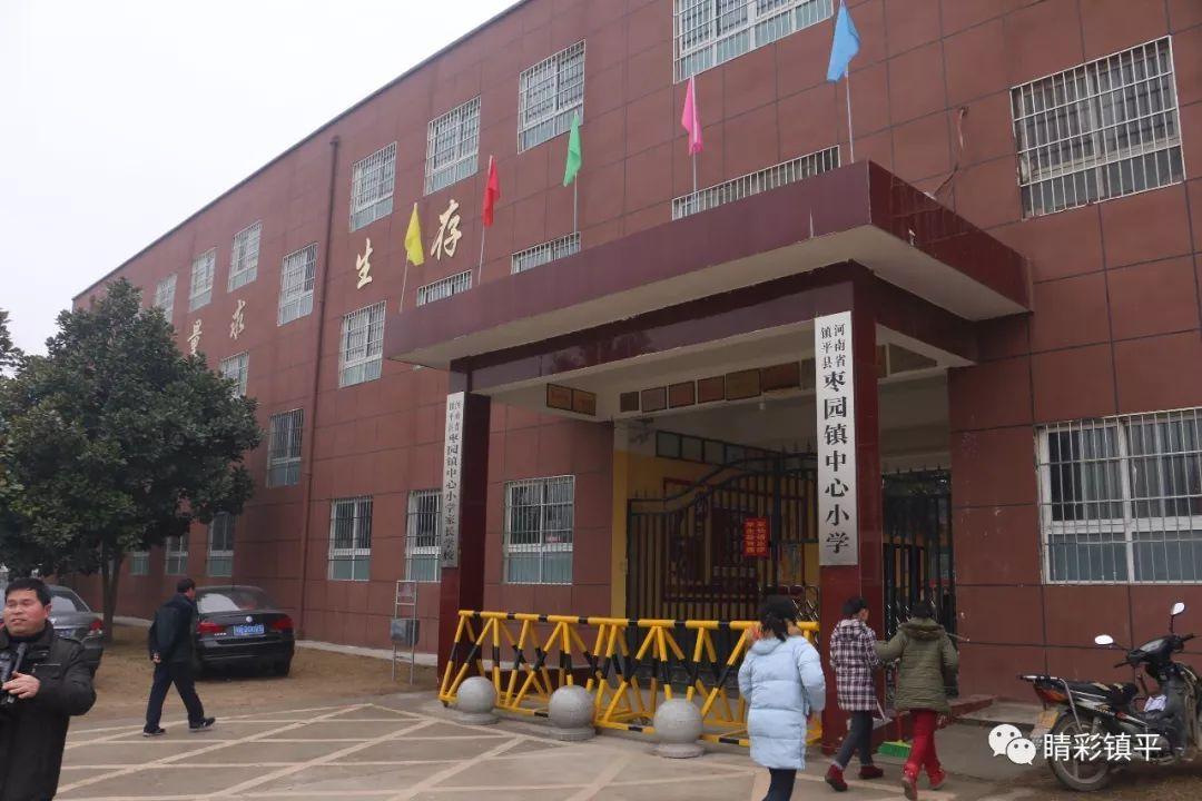镇平:爱心企业向枣园中心小学捐赠智能校园安全系统