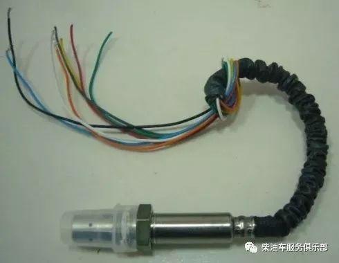 八根线的传感器如何检测?