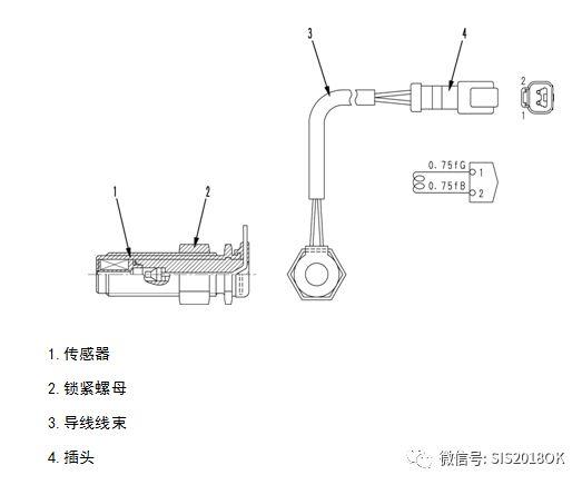 小松PC-7系列挖掘机发动机转速传感器的功能