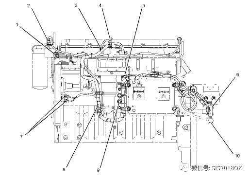 卡特C9.3船用发动机#00传感器位置及工作原理
