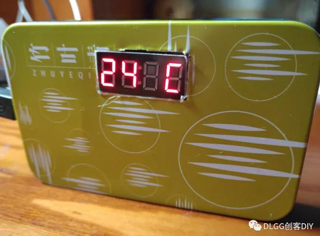 用DHT11温湿度传感器自制arduino温湿度计