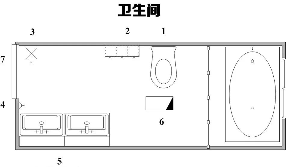 卫生间智能家居设计实施方案,附设计草图
