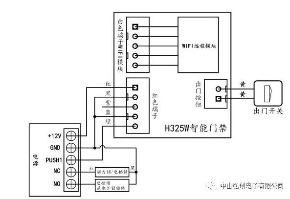 H325W智能门禁使用说明书