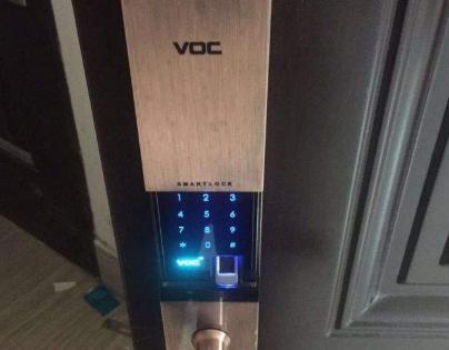 voc智能锁如何录入/删除指纹,录不上指纹怎么办